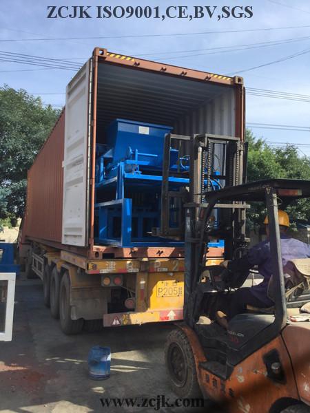 Nigeria ZCJK 4-20A Block Machine (1)