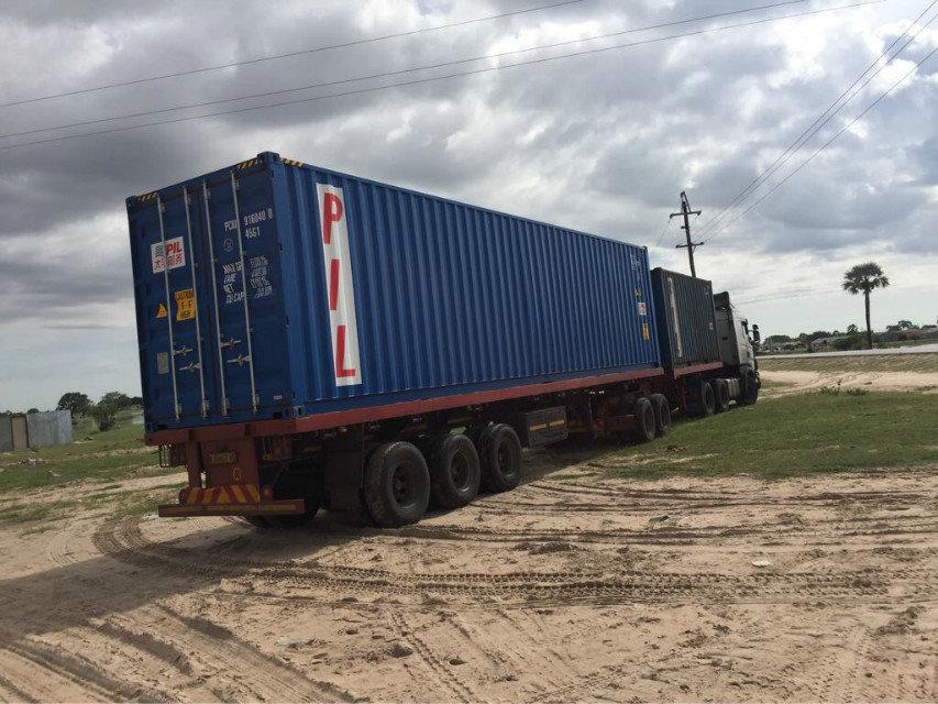 纳米比亚QTY6-15 block machine in Namibia (6)