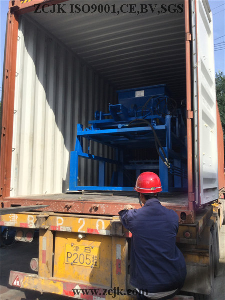 Nigeria ZCJK 4-20A Block Machine (4)