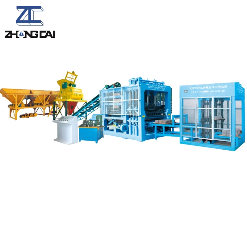 QTY9-18 Hydraulic Fully Automatic Block Making Machine Line