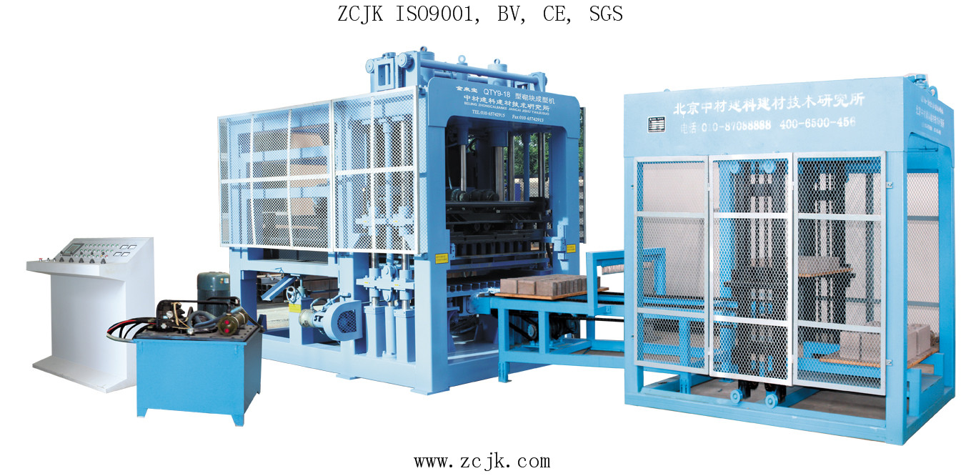 ZCJK Engineer service overseas, ZCJK 9-18 Fully auto hydraulic machine type, on the way to Saudi Arabic, welcome your checking & visiting!