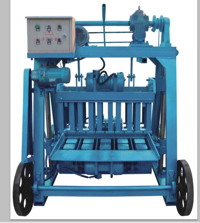 ZCJK QM4-45 Mobile Block Making Machine